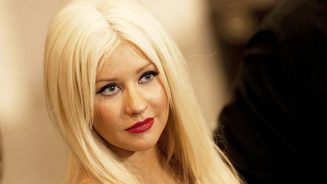 Christina Aguilera is trots op achterwerk