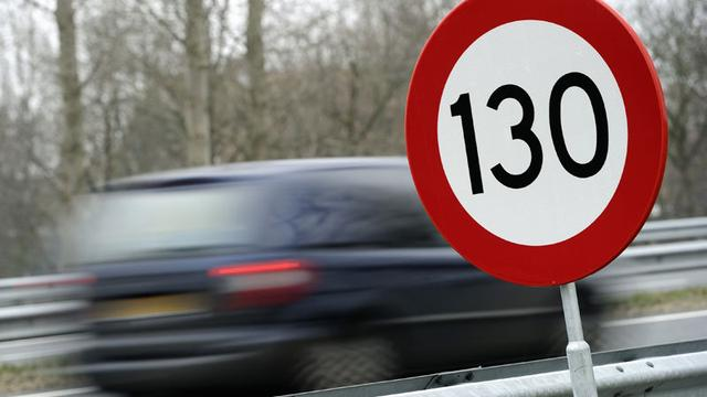 Snelheid op gedeeltes A12 omhoog naar 130 kilometer per uur