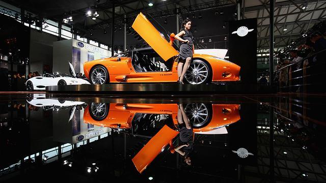 Saab's neergang duwt Spyker in de zwarte cijfers