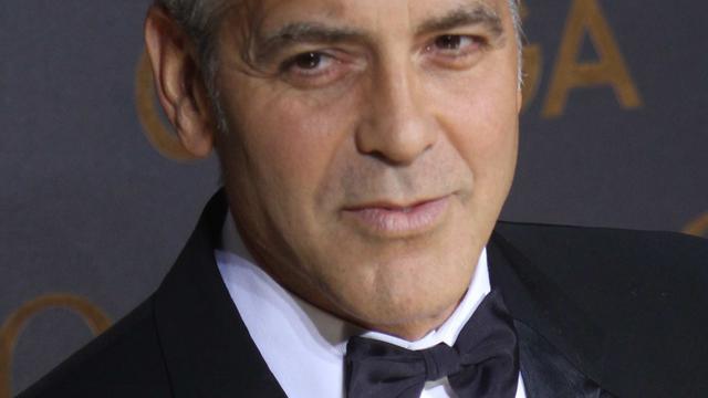 Forse maatregelen George Clooney voor trouwfoto's