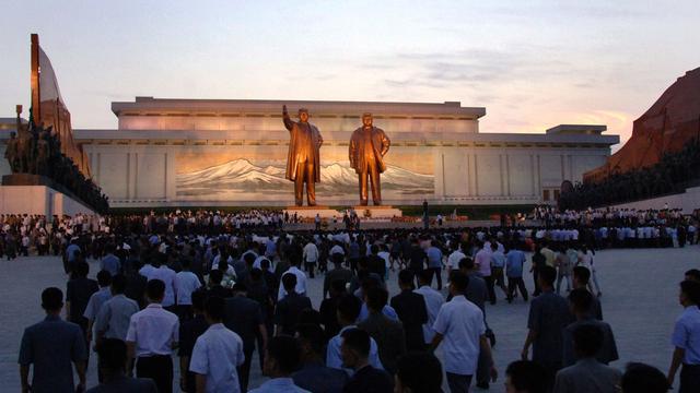 Noord-Korea herdenkt sterfdag Kim Il Sung