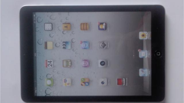 Foto's vermeende iPad Mini duiken op