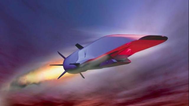 Supersonisch straalvliegtuig verongelukt