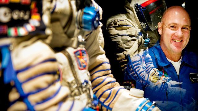 Kuipers viert 30 april in ruimte