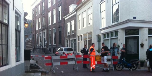 Blikje leidt tot commotie in Middelburg