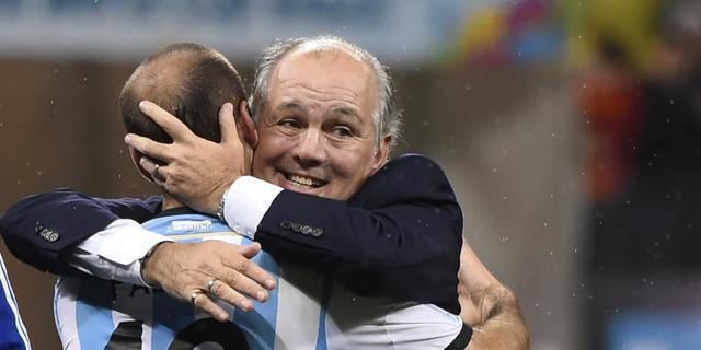 Argentijnse bondscoach kan geluk niet op na finaleplaats