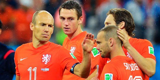 Nederlands elftal vliegt donderdag al naar Brasilia