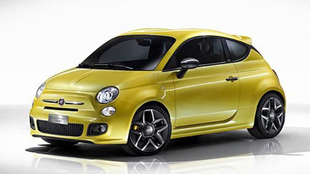 Fiat 500 Zagato in productie