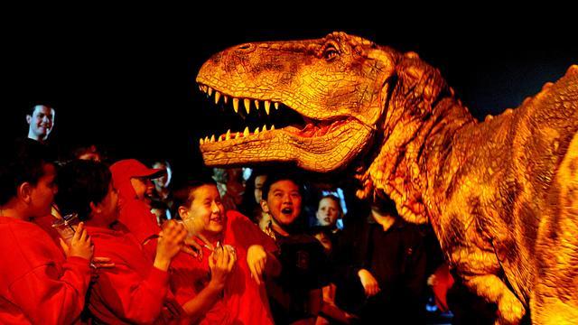 Dinosauriërs lichter dan gedacht