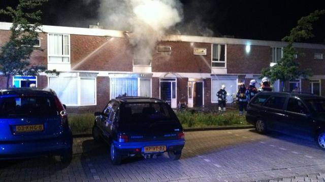 Politie zoekt beelden van brand Nijmegen