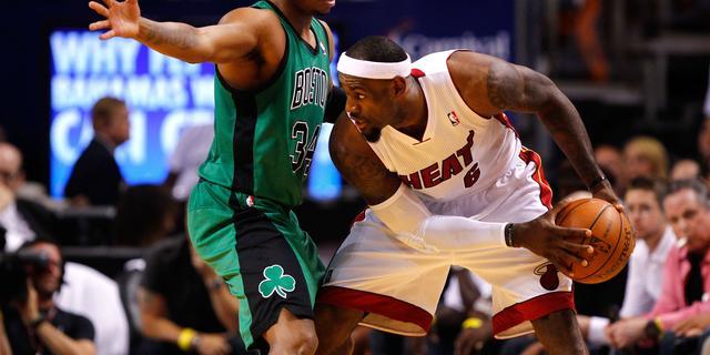 Miami Heat wint opnieuw van Boston Celtics
