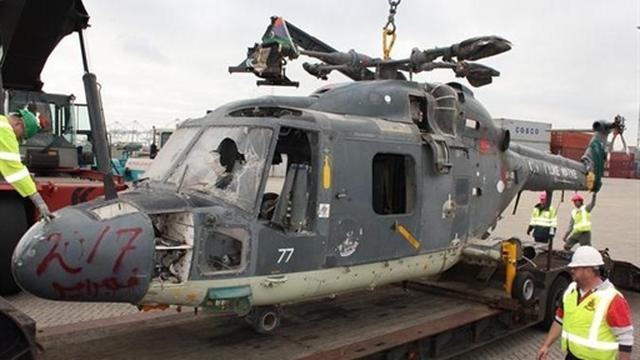 Nederlandse Lynx-helikopter terug uit Libië