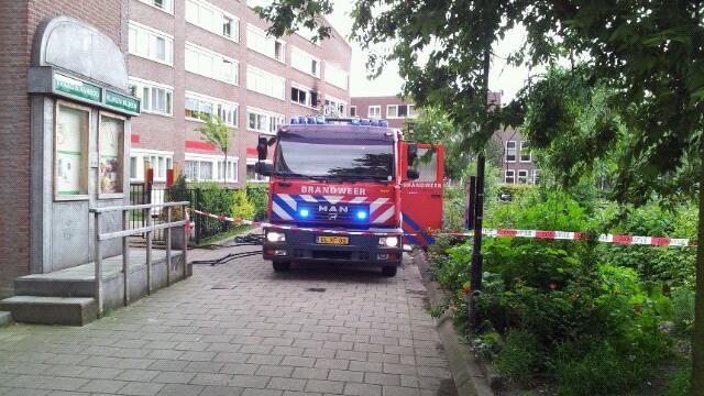 Grote brand in Rotterdams verzorgingstehuis
