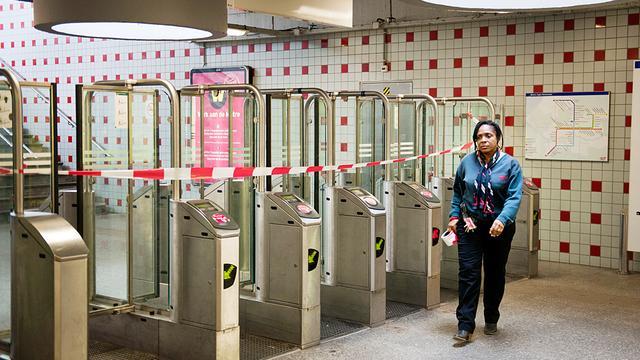 Loze bommelding Rotterdams metrostation Delfshaven