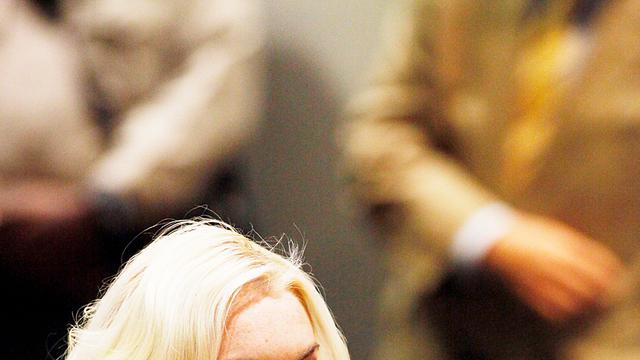 'Lindsay Lohan kort in ziekenhuis na auto-ongeluk'