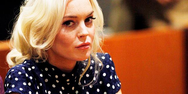 Lindsay Lohan vreesde voor cel na diefstal tas