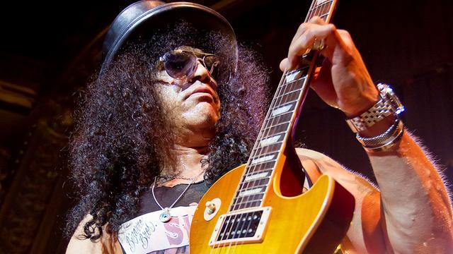 Slash krijgt ster op Hollywood Walk of Fame