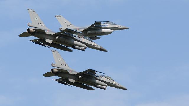 F-16's gooien bommen in Afghanistan