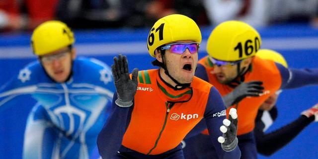 Sjinkie Knegt wint 1500 meter EK shorttrack