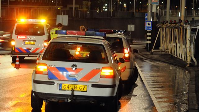 Taxichauffeur overvallen op Heemraadssingel