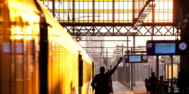 Twee conducteurs mishandeld in trein in Haarlem