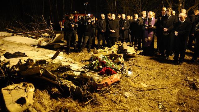 'Vliegtuig president Polen viel uit elkaar'
