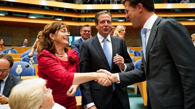 'Rutte verkoopt EU als levertraan'