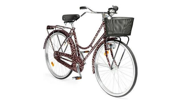 Dolce & Gabbana lanceert fiets met panterprint