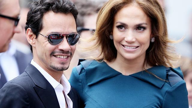 Exen Jennifer Lopez en Marc Anthony herstelden band door samenwerking