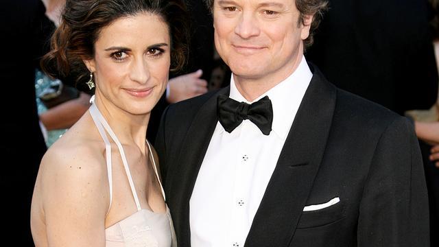 Vrouw van Colin Firth had affaire met vermeende stalker