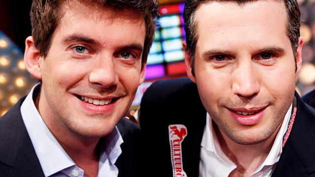 Ruben Nicolai en Tijl Beckand presenteren wetenschapsshow
