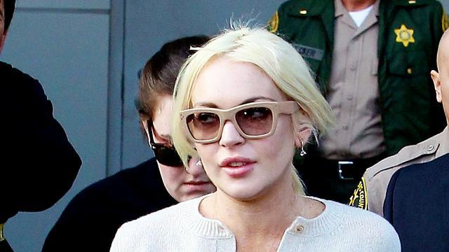 Lindsay Lohan weer op het rechte pad