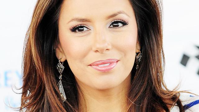 Eva Longoria emotioneel op set