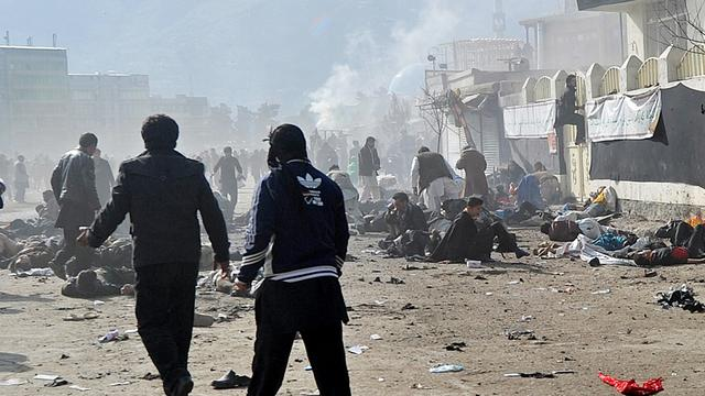 Doden door aanslag op politie Kandahar