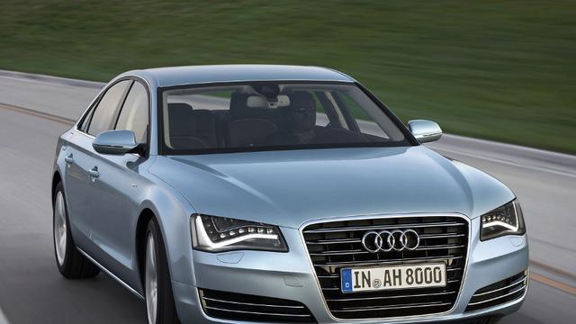 Audi A8 Hybrid getest