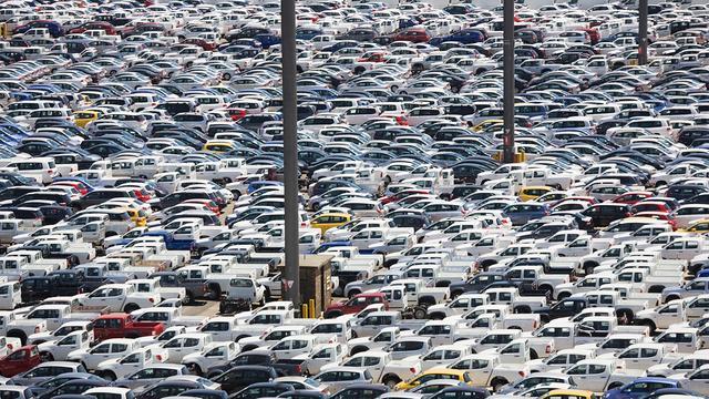 'Europese automarkt daalt verder'