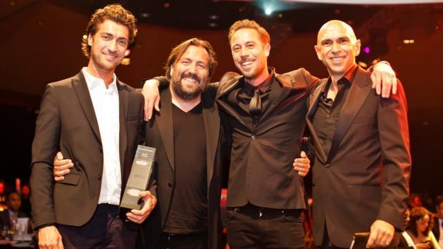 Casper Reinders grote winnaar Venuez Awards