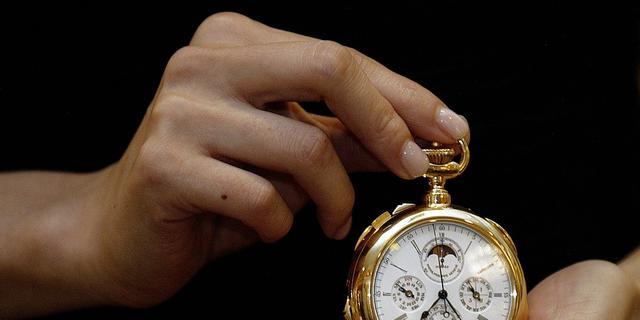 Duurste horloge weer onder hamer