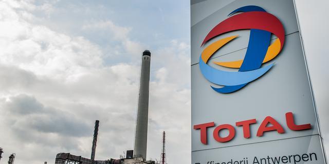 Olieconcern Total boekt minder winstdaling dan verwacht