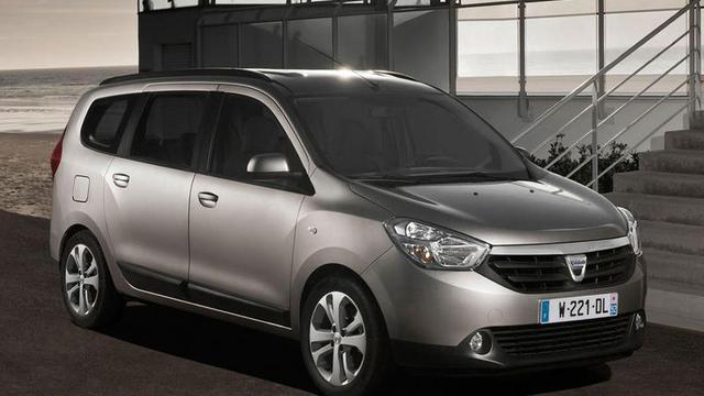 Dacia Lodgy officieel