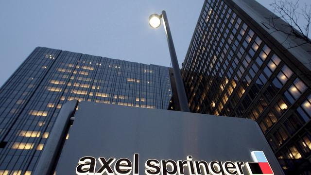Omzet Axel Springer verder omhoog