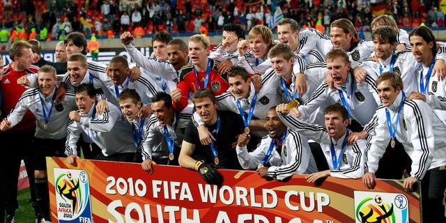 Fotoserie: Troostfinales sinds 1994