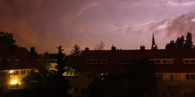 Onweer zorgt voor problemen in oosten en zuiden