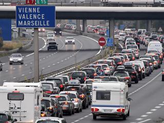 Ook ANWB raadt Nederlandse reizigers af om zaterdag te rijden over Franse wegen