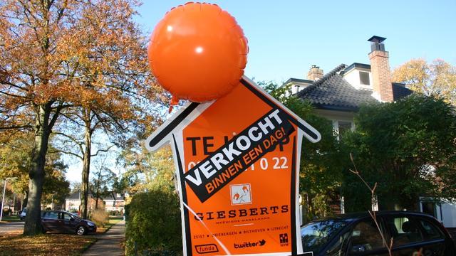 Huizen 10 procent te duur volgens Rabobank-topman