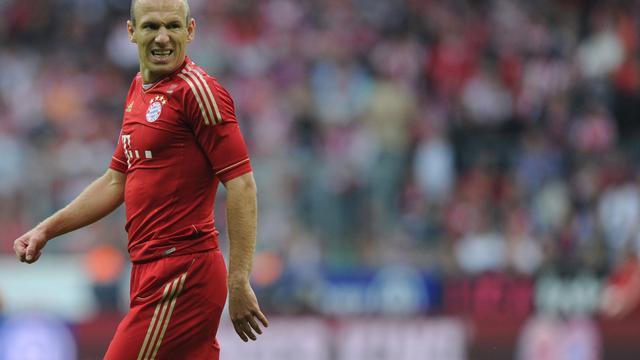 Grieperige Robben mist duel met Manchester City