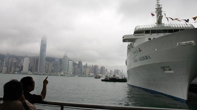 Cruiseschip Costa Allegra in moeilijkheden
