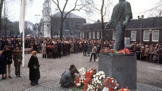 Amsterdam herdenkt Februaristaking