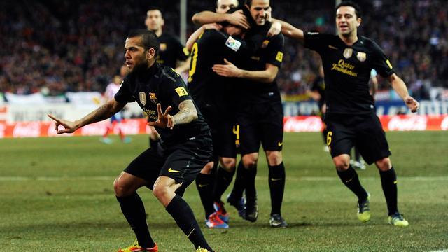 Barcelona wint uitduel met Atletico