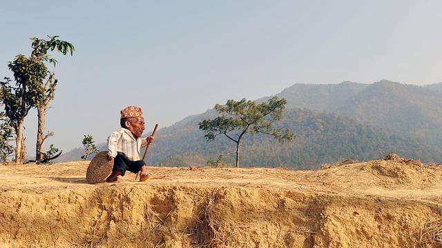 Nepalees officieel kortste man ter wereld
